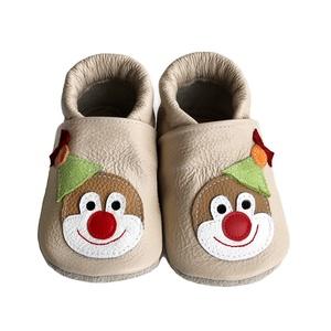 Hopphopp puhatalpú cipő - Bohóc masnival - Meska.hu