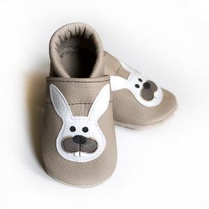 Hopphopp puhatalpú cipő - Nyuszi (Hopphopp) - Meska.hu