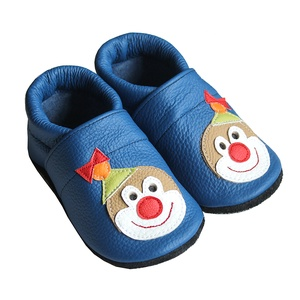 Hopphopp puhatalpú cipő - Bohócos/Kék (Hopphopp) - Meska.hu