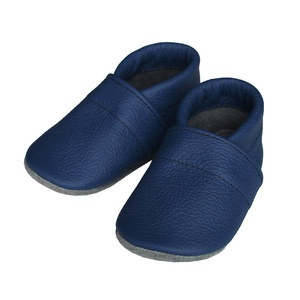 Hopphopp puhatalpú cipő - Kék, Gyerek & játék, Táska, Divat & Szépség, Cipő, papucs, Varrás, A cipők természetes, puha, minőségi bőrből készülnek, melyek ideálisak a járni tanuló babáknak, vagy..., Meska