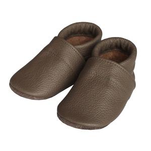 Hopphopp puhatalpú cipő - Kávébarna, Gyerek & játék, Táska, Divat & Szépség, Cipő, papucs, Varrás, A cipők természetes, puha, minőségi bőrből készülnek, melyek ideálisak a járni tanuló babáknak, vagy..., Meska