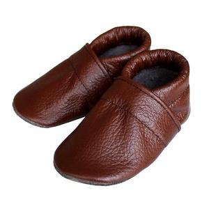 Hopphopp puhatalpú cipő - Barna, Gyerek & játék, Táska, Divat & Szépség, Cipő, papucs, Varrás, A cipők természetes, puha, minőségi bőrből készülnek, melyek ideálisak a járni tanuló babáknak, vagy..., Meska