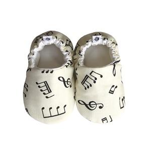 Hangjegyes kocsicipő, Táska, Divat & Szépség, Gyerek & játék, Cipő, papucs, Ruha, divat, Gyerekruha, Baba (0-1év), Varrás, 16-19-es méretben rendelhetők a cipőcskék, kívül-belül pamutból készülnek, illetve a két réteg közé ..., Meska