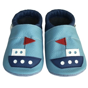 Új!!! Hopphopp puhatalpú cipő - Hajó, Táska, Divat & Szépség, Cipő, papucs, Ruha, divat, Gyerekruha, Baba (0-1év), Gyerek (1-10 év), Bőrművesség, Varrás, A cipők természetes, puha, minőségi bőrből készülnek, melyek ideálisak a járni tanuló babáknak, vagy..., Meska