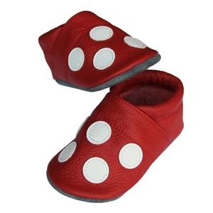 Új!!! Hopphopp puhatalpú cipő - Pöttyös (Hopphopp) - Meska.hu