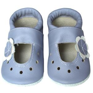 Hopphopp puhatalpú szandál - Virágos/levendula, Táska, Divat & Szépség, Cipő, papucs, Ruha, divat, Gyerekruha, Baba (0-1év), Gyerek (1-10 év), Bőrművesség, Varrás, A cipők természetes, puha, minőségi bőrből készülnek, melyek ideálisak a járni tanuló babáknak, vagy..., Meska