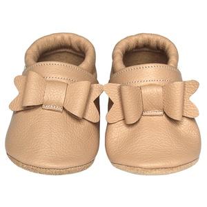 Új!!! Hopphopp puhatalpú cipő - Masnis/púderrózsaszín, Táska, Divat & Szépség, Cipő, papucs, Ruha, divat, Gyerekruha, Baba (0-1év), Gyerek (1-10 év), A cipők természetes, puha, minőségi bőrből készülnek, melyek ideálisak a járni tanuló babáknak, vagy..., Meska