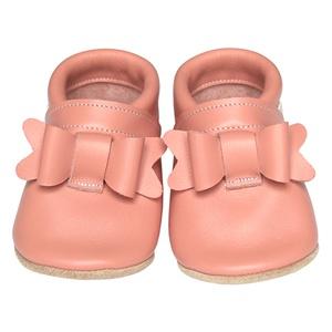 Új!!! Hopphopp puhatalpú cipő - Masnis/rózsaszín (Hopphopp) - Meska.hu