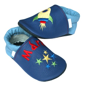 Új! Hopphopp puhatalpú cipő - Hímzett - Űrhajós (Hopphopp) - Meska.hu