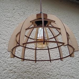 Terra lámpa, Otthon & Lakás, Lámpa, Fali & Mennyezeti lámpa, Famegmunkálás, Rétegelt nyírfalemezből készült egyedi tervezésű lámpánkat ajánljuk azoknak, akik természetes alapan..., Meska