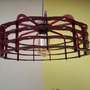 Lámpa - Falanda, Otthon & Lakás, Lámpa, Fali & Mennyezeti lámpa, Famegmunkálás, Rétegelt nyírfalemezből készült egyedi tervezésű lámpánkat ajánljuk azoknak, akik természetes alapan..., Meska