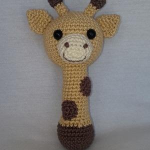 Horgolt zsiráf csörgő (HorgoloZoo) - Meska.hu