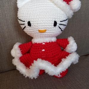 Télanyó Kitty (horgolt) - Meska.hu