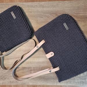 Horgolt laptop táska és egy válltáska - Meska.hu