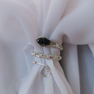 Kígyó gyűrű , Ékszer, Gyűrű, Figurális gyűrű, Ékszerkészítés, Piton kígyó gyűrű állítható mérettel. \nA képen látható gyűrű 55- os méret. , Meska