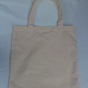 Vászon táska, Táska, Táska, Divat & Szépség, Szatyor, Varrás, A táska 100 % nyers pamut vászon . Akár te magad is díszítheted  ! A csomag 2 db táskát tartalmaz ! ..., Meska