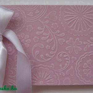 Szülőköszöntői album - vendégkönyv (türkiz) - kislány-születésnap - jókívánság könyv -  esküvőtervezés - lánybúcsú  (Igenigen) - Meska.hu