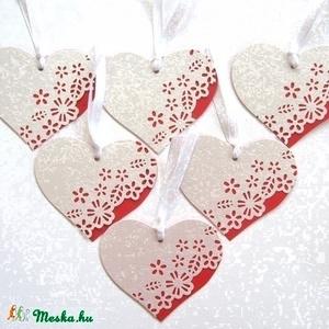 Szív-csomag - ültetőkártya (Igenigen) - Meska.hu