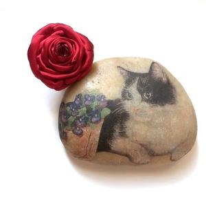 Igazi piros rózsa  - gyűrű - Meska.hu
