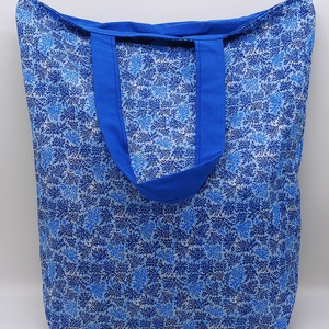 Bevásárló táska, SHOPPER, Táska, Divat & Szépség, NoWaste, Bevásárló zsákok, zacskók , Textilek, Táska, Szatyor, Varrás, Bevásárló táska, shopper, pamut vászon anyagból, pamuttal bélelt.\n\nMérete:\n35x40 cm, Meska