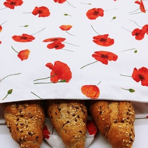 Frissentartó kenyeres zsák pul belsővel - nagy méret (ilditextilkuckoja) - Meska.hu