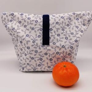 Uzsonnás táska - Lunch bag - Zero waste , Táska & Tok, Uzsonna- & Ebéd tartó, Ebéd tasak, doboz, Varrás, Környezetbarát, újrahasználható uzsonnás táska,  csomagolási alternatíva nem csak gyerekeknek a nejl..., Meska