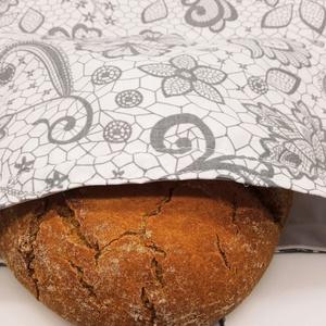 Frissentartó kenyeres zsák - közepes méret - Meska.hu