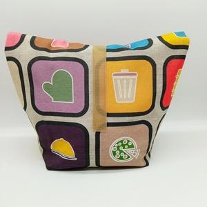 Uzsonnás táska - Lunch bag - Zero waste  - Meska.hu