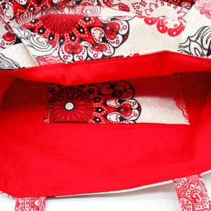 Bevásárló táska, válltáska, SHOPPER - táska & tok - bevásárlás & shopper táska - shopper, textiltáska, szatyor - Meska.hu