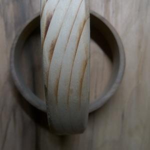 karkötő fenyő, Ékszer, Ékszerkészítés, Kézzel készült fa ékszer\n, Meska