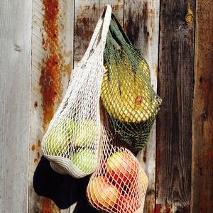 Horgolt bevásárlószatyor, Táska & Tok, Bevásárlás & Shopper táska, Horgolás, Erős horgolócérnából készült bevásárló szatyor.\nKiválóan alkalmas gyümölcsök és zöldségek tárolására..., Meska