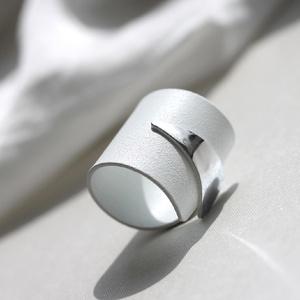 ENÉ White gyűrű - Meska.hu