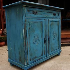 Komód, szekrény, asztal egyedi antikolt,vaxolt (imagog) - Meska.hu