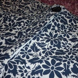 AKCIÓ!! Kék-fehér virágmintás rövidnadrág (imolafashion) - Meska.hu