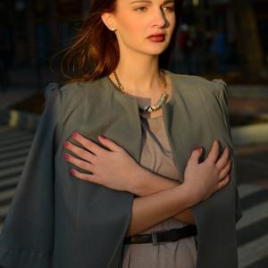 AKCIÓ! Gyapjús átmeneti kabát, Táska, Divat & Szépség, Női ruha, Ruha, divat, Kabát, Varrás, AKCIÓ!\nGyapjús átmeneti kabát pihe-puha tapintású, minőségi gyapjús anyagból. Béleletlen kabát, rend..., Meska