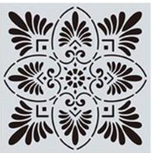 Mandala stencil, mandala sablon 4-es minta, Szerszámok, eszközök, Sablonok, Festett tárgyak, festészet, Decoupage, szalvétatechnika, Mindenmás, Mandala festéséhez, rajzoláshoz.\nAnyaga: hajlékony műanyag\nLemosható, tisztítható, többször felhaszn..., Meska