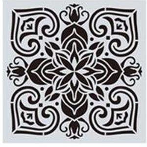 Mandala stencil, mandala sablon 5-ös minta, Szerszámok, eszközök, Sablonok, Festett tárgyak, festészet, Decoupage, szalvétatechnika, Mindenmás, Mandala festéséhez, rajzoláshoz.\nAnyaga: hajlékony műanyag\nLemosható, tisztítható, többször felhaszn..., Meska