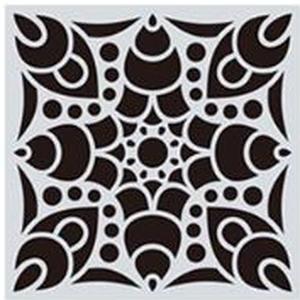 Mandala stencil, mandala sablon 6-os minta, Szerszámok, eszközök, Sablonok, Festett tárgyak, festészet, Decoupage, szalvétatechnika, Mindenmás, Mandala festéséhez, rajzoláshoz.\nAnyaga: hajlékony műanyag\nLemosható, tisztítható, többször felhaszn..., Meska