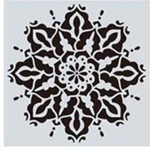 Mandala stencil, mandala sablon 9-es minta, Szerszámok, eszközök, Sablonok, Festett tárgyak, festészet, Decoupage, szalvétatechnika, Mindenmás, Mandala festéséhez, rajzoláshoz.\nAnyaga: hajlékony műanyag\nLemosható, tisztítható, többször felhaszn..., Meska