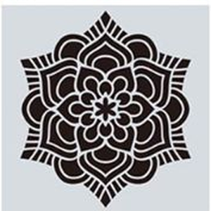 Mandala stencil, mandala sablon 11-es minta, Szerszámok, eszközök, Sablonok, Festett tárgyak, festészet, Decoupage, szalvétatechnika, Mindenmás, Mandala festéséhez, rajzoláshoz.\nAnyaga: hajlékony műanyag\nLemosható, tisztítható, többször felhaszn..., Meska