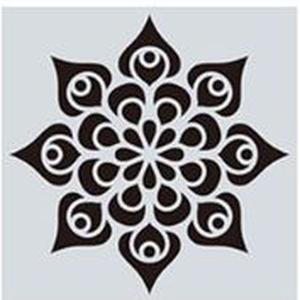 Mandala stencil, mandala sablon 16-os minta, Szerszámok, eszközök, Sablonok, Festett tárgyak, festészet, Decoupage, szalvétatechnika, Mindenmás, Mandala festéséhez, rajzoláshoz.\nAnyaga: hajlékony műanyag\nLemosható, tisztítható, többször felhaszn..., Meska