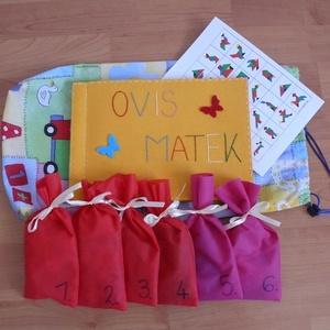 Matematikai-logikai készségfejlesztő, Készségfejlesztő & Logikai játék, Játék & Gyerek, Varrás, A termék óvodáskorú (5-7 éves) gyermekek részére készült, mely 6 játékot tartalmaz. Az oldalak számo..., Meska