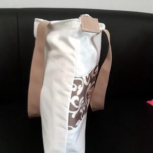Fehér nyári táska (indabag) - Meska.hu