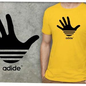 Adide, Táska, Divat & Szépség, Férfiaknak, Férfi ruha, Ruha, divat, Méretet megjegyzésben lehet rendeléskor választani.   A póló 100% pamut, sárga színű, Gildan márkájú..., Meska