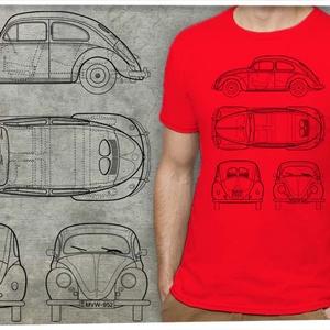 Volkswagen bogár rendelhető rendszámmal - Meska.hu