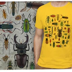 Bogaras póló, Táska, Divat & Szépség, Férfi ruha, Ruha, divat, Méretet megjegyzésben lehet rendeléskor választani.   A póló 100% pamut, homok vagy fehér színű, Gil..., Meska