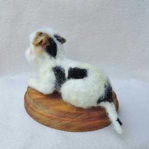 Kutya hasonmás - egyedi westie, bolognese, havanese, máltai fekvő szobor (Inkarno) - Meska.hu