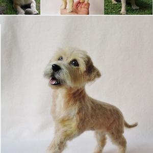 Kutya hasonmás - egyedi tűnemez kutya portré (Inkarno) - Meska.hu
