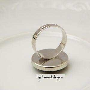 KLIMT csigái - tűzzománc gyűrű (InnocentDesign) - Meska.hu