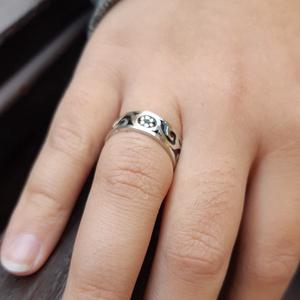 KLIMT - tűzzománc gyűrű (InnocentDesign) - Meska.hu